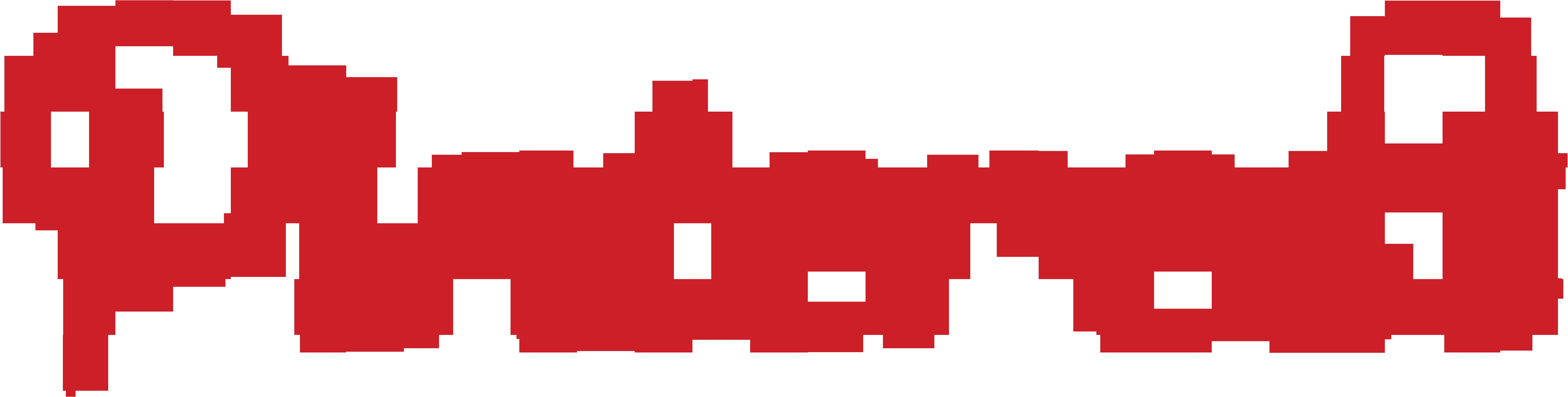 Pinterest Logo in Red