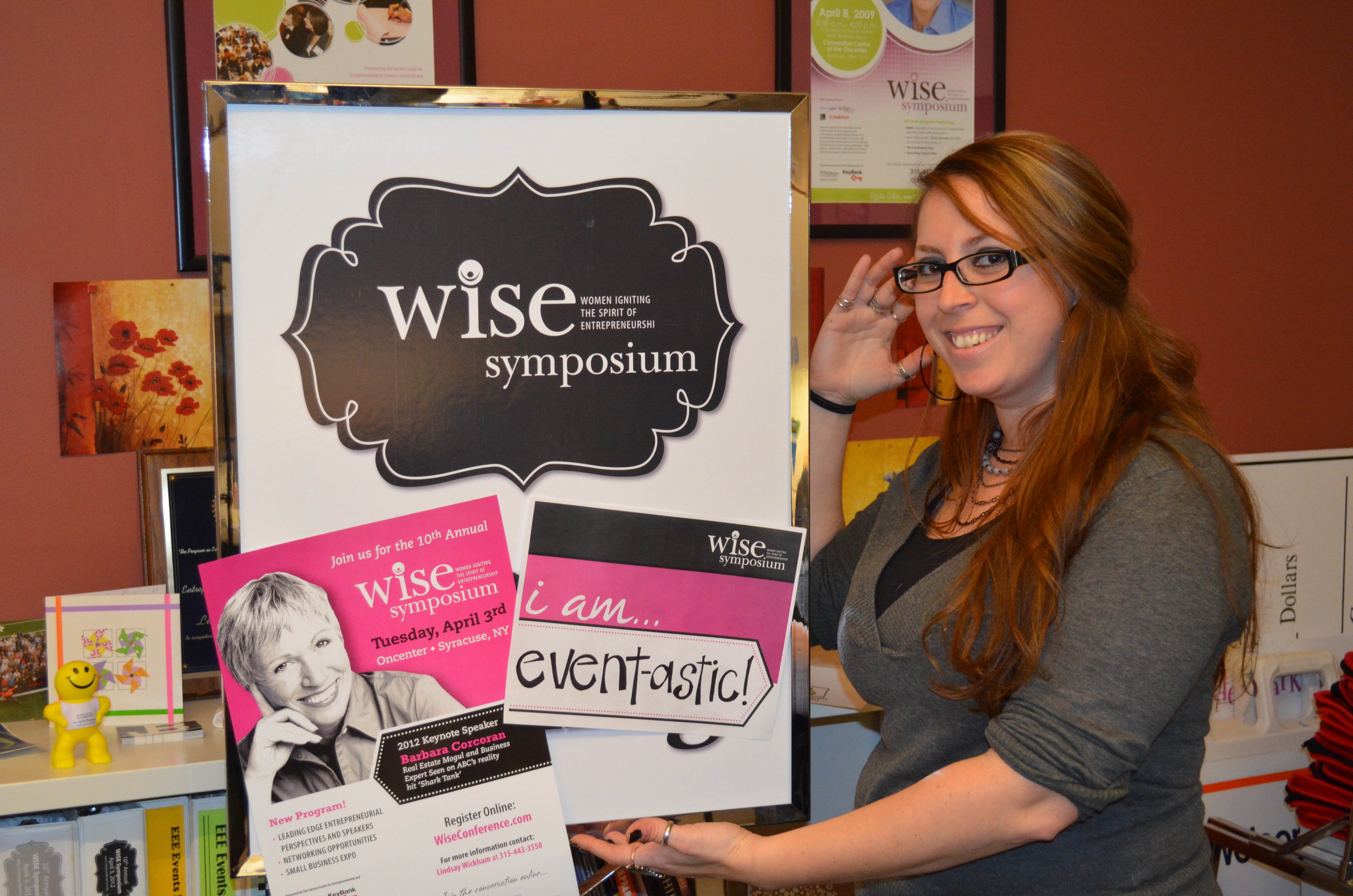 Lindsay, WISE Event Manager
