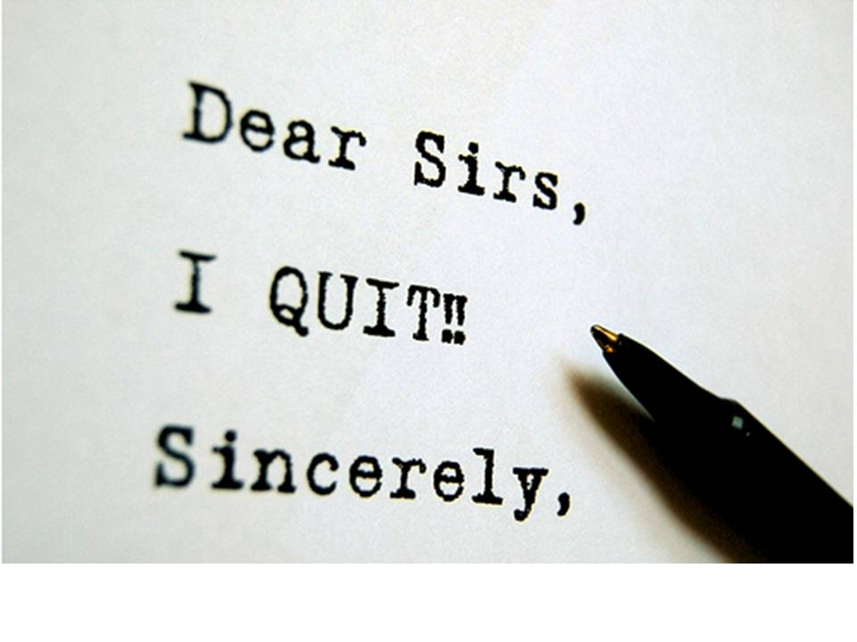 quitting a job you just started