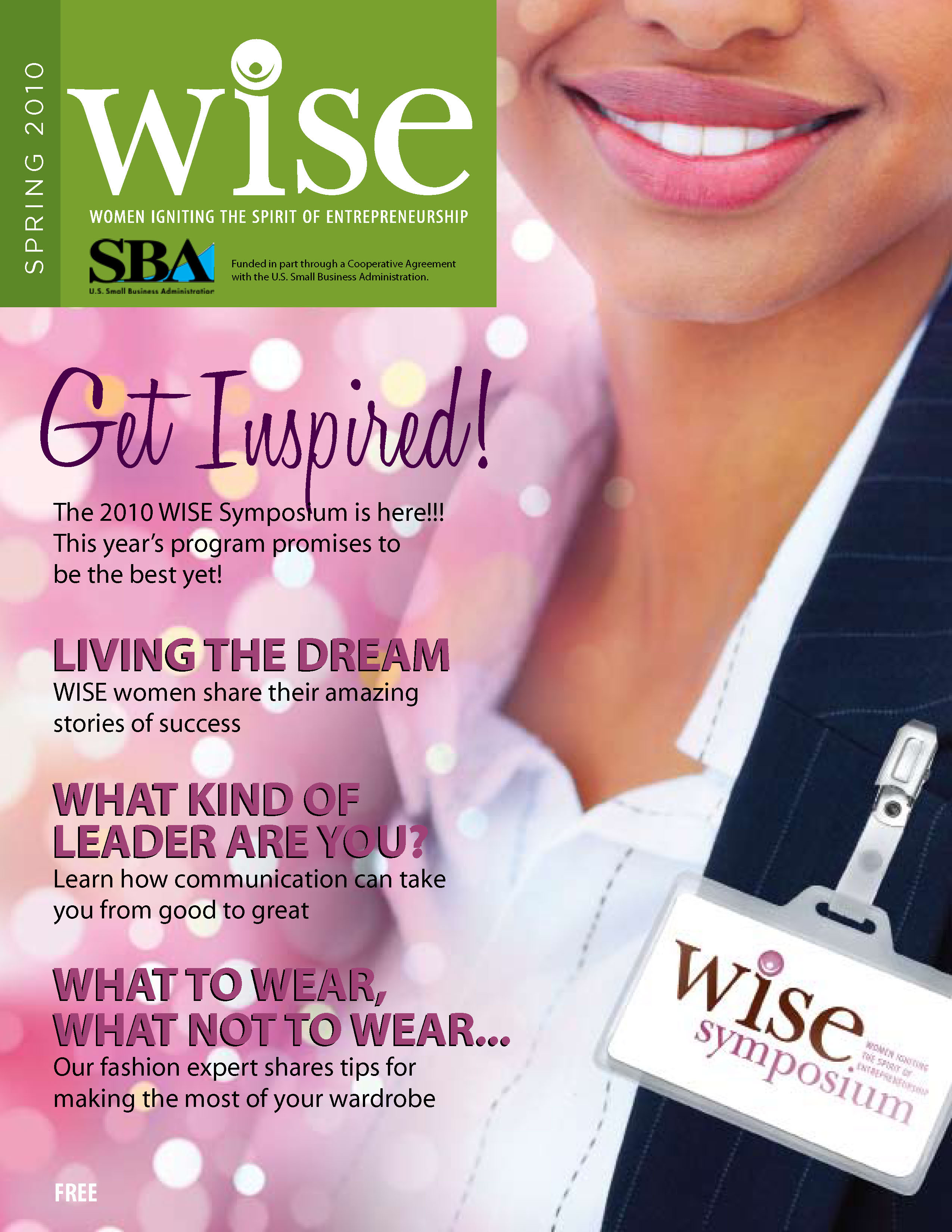 WISE Cover 2010 Magazine