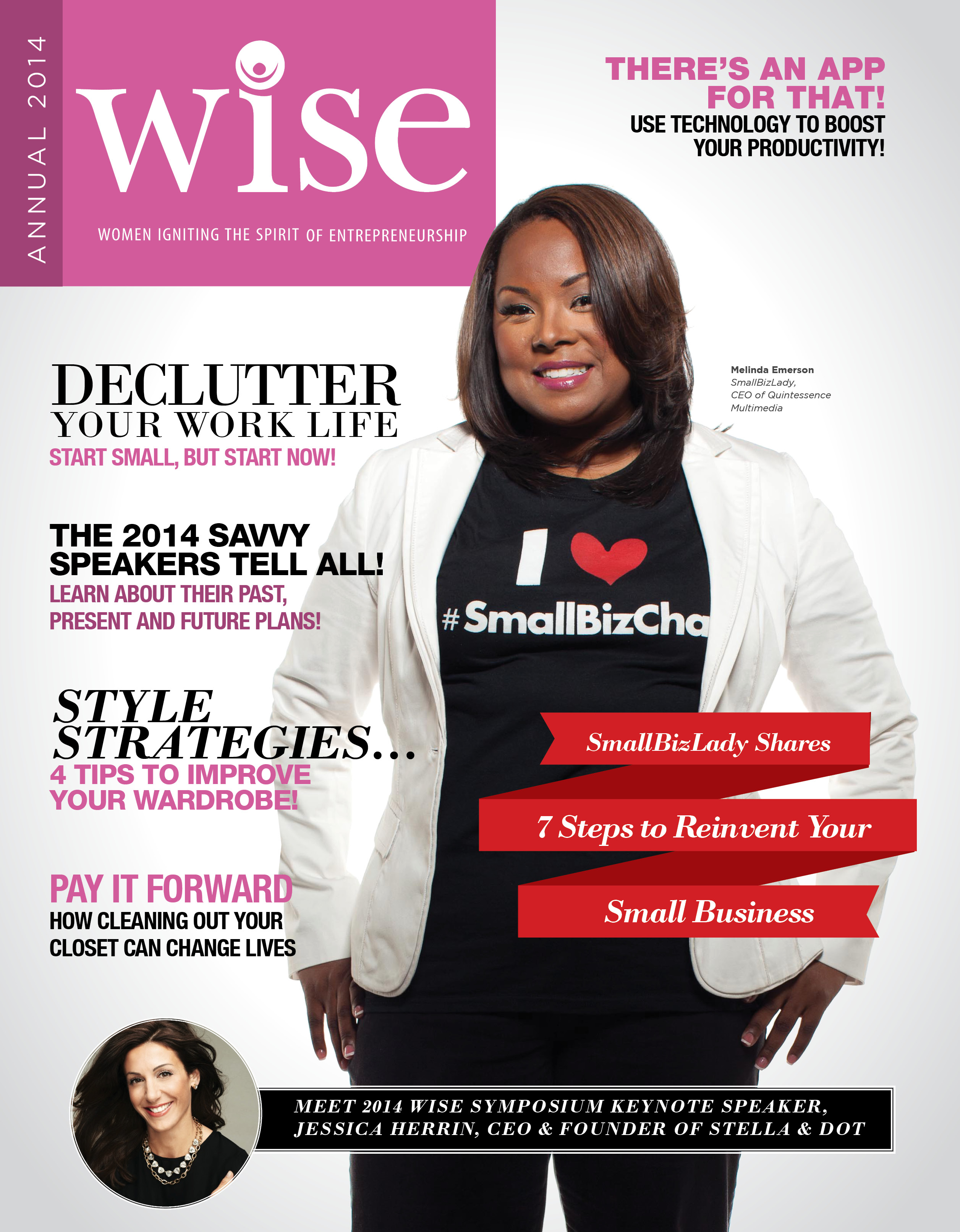 WISE 2014 mag cover