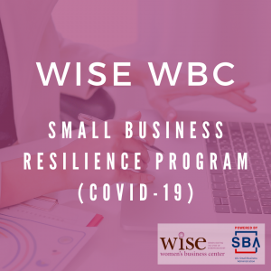 Wise Women Business Professional Center entrepreneurship resilience covid-19 workshop