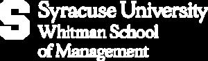 Whitman School of Management Logo